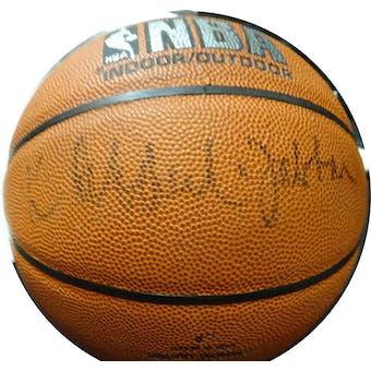 Kareem Abdul-Jabbar Autographed NBA Indoor/Outdoor Basketball JSA KK52774 (Reed Buy)