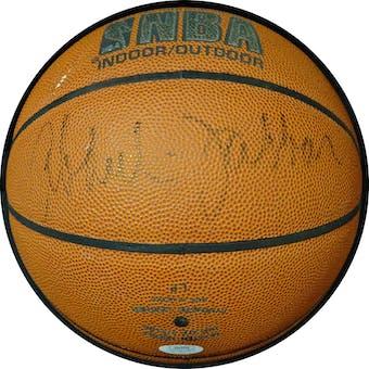 Kareem Abdul-Jabbar Autographed NBA Indoor/Outdoor Basketball JSA KK52773