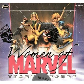 Women of Marvel Trading Cards Box (Rittenhouse 2008)