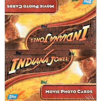 Indiana Jones & the Kingdom of the Crystal Skull Hobby Box (2008 Topps)