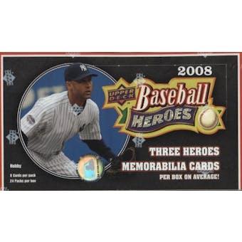 2008 Upper Deck Heroes Baseball Hobby Box