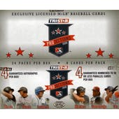 2008 TriStar Projections Baseball Hobby Box