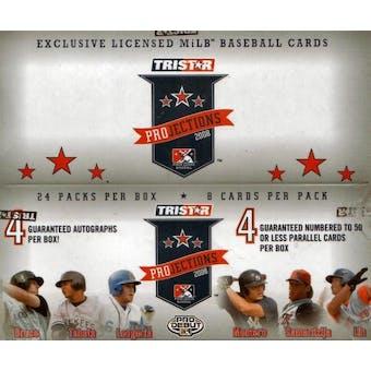 2008 TriStar Projections Baseball Hobby Box