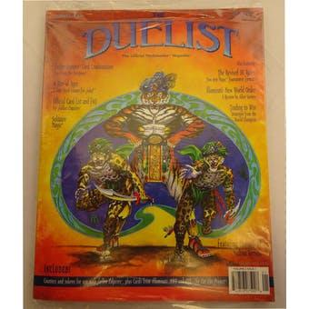 Duelist Magazine Issue #4 Bagged Fallen Empires Booster WOTC Counters (Reed Buy)