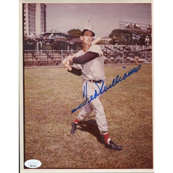 Ted Williams Boston Red Sox Autographed 8x10 Photo JSA BB42558 (Reed Buy)