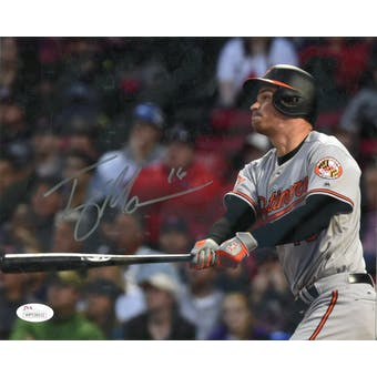 Trey Mancini Baltimore Orioles Autographed 8x10 Photo JSA WP538932 (Reed Buy)