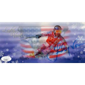 Lindsey Vonn Autographed Postcard JSA KK52804 (Reed Buy)