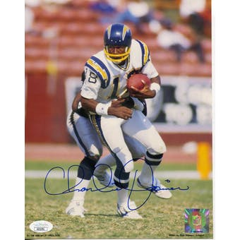 Charlie Joiner San Diego Chargers Autographed 8x10 Photo JSA KK52781 (Reed Buy)