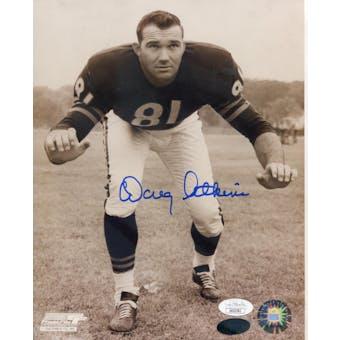 Doug Atkins Chicago Bears Autographed 8x10 Photo JSA KK52782 (Reed Buy)