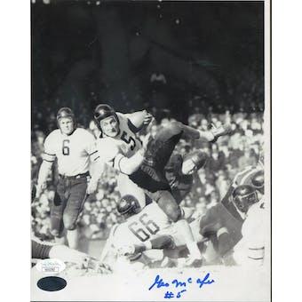 George McAfee Chicago Bears Autographed 8x10 Photo JSA KK52783 (Reed Buy)