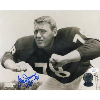 Stan Jones Chicago Bears Autographed 8x10 Photo (HOF 91) JSA KK52784 (Reed Buy)