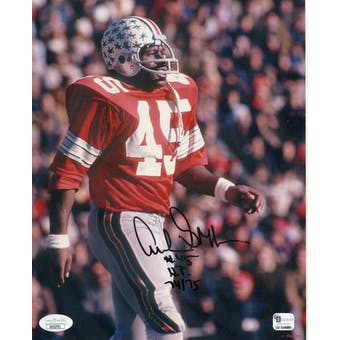 Archie Griffin Ohio State Buckeyes Autographed 8x10 Photo (HT 74/75) JSA KK52791 (Reed Buy)