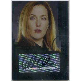 Gillian Anderson Inkworks X-Files I Want To Believe #A-2 Dana Scully Autograph (Reed Buy)