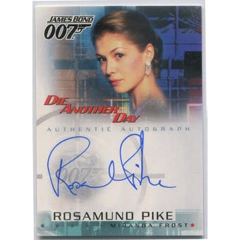 Rosamund Pike Rittenhouse James Bond Die Another Day #A5 Miranda Frost Autograph (Reed Buy)