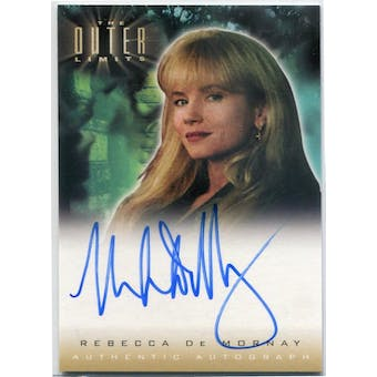 Rebecca De Mornay Rittenhouse The Outer Limits #A12 Autograph (Reed Buy)