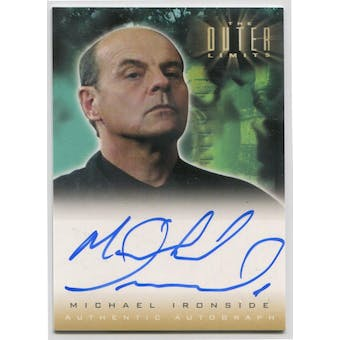 Michael Ironside Rittenhouse The Outer Limits #A4 Autograph (Reed Buy)