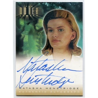 Natasha Henstridge Rittenhouse The Outer Limits #A1 Autograph (Reed Buy)