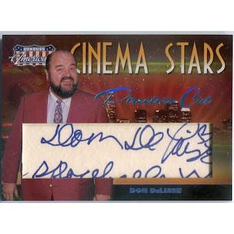 Dom Deluise Donruss Americana Cinema Stars #CS-12 Autograph #/25 (Reed Buy)