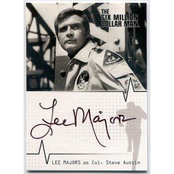 Lee Majors Rittenhouse Six Million Dollar Man #A1 Steve Austin Autograph (Reed Buy)