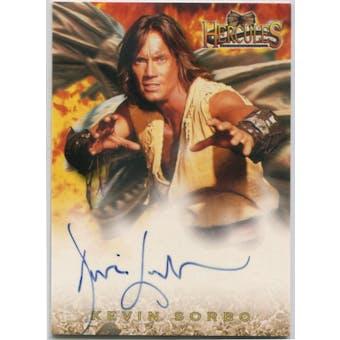 Kevin Sorbo Rittenhouse Hercules The Legendary Journeys #HA1 Hercules Autograph (Reed Buy)