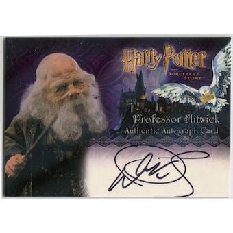 Warwick Davis Artbox Harry Potter Sorcerer's Stone Professor Flitwick Autograph (Reed Buy)