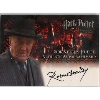 Robert Hardy Artbox Harry Potter Prisoner of Azkaban Cornelius Fudge Autograph (Reed Buy)