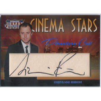 Giovanni Ribisi Donruss Americana Cinema Stars #CS-9 Autograph #/10 (Reed Buy)