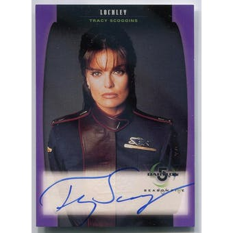 Tracy Scoggins Skybox Babylon 5 #A02 Autograph (Reed Buy)