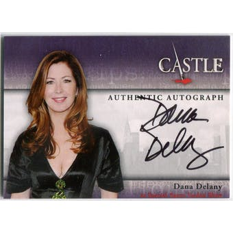 Dana Delany Cryptozoic Castle #A7 Agent Jordan Shaw Autograph (Reed Buy)