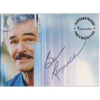Burt Reynolds Inkworks X-Files Mr. Burt Autograph (Reed Buy)