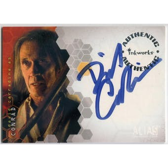 David Carradine Inkworks Alias #A23 Conrad Autograph (Reed Buy)