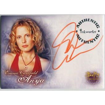 Emma Caufield Inkworks Buffy Women of Sunnydale #A-1 Anya Autograph (Reed Buy)