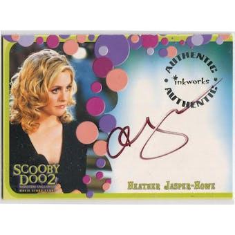 Alicia Silverstone Inkworks Scooby Doo 2 #A-4 Heather Jasper-Howe Autograph