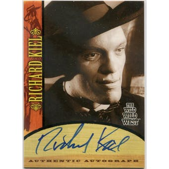 Richard Kiel Rittenhouse The Wild Wild West #A5 Voltaire Autograph (Reed Buy)