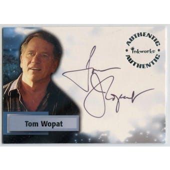Tom Wopat Inkworks Smallville #A36 Senator Jack Jennings Autograph (Reed Buy)