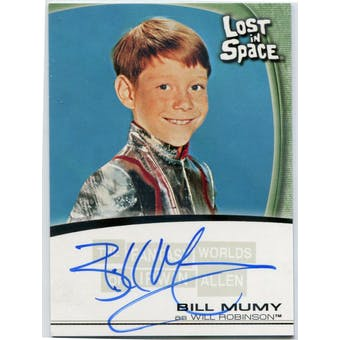 Bill Mumy Rittenhouse Fantasy Worlds Irwin Allen Lost in Space #A1 Will Robinson Autograph (Reed Buy)