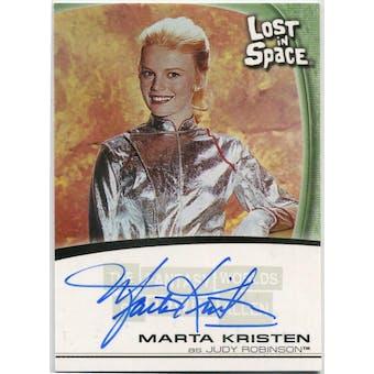 Marta Kristen Rittenhouse Irwin Allen Lost in Space #A7 Judy Robinson Autograph (Reed Buy)