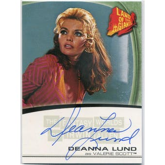 Deanna Lund Rittenhouse Irwin Allen Land of the Giants #A9 Valerie Scott Autograph (Reed Buy)