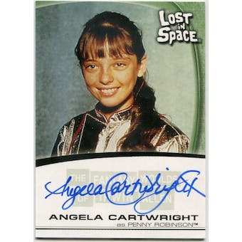 Angela Cartwright Rittenhouse Irwin Allen Lost in Space #A10 Penny Robinson Autograph (Reed Buy)