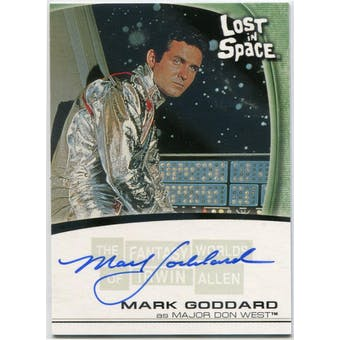 Mark Goddard Rittenhouse Irwin Allen Lost in Space #A12 Major Don West Autograph (Reed Buy)