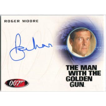 Roger Moore Rittenhouse James Bond #A226 Autograph (Reed Buy)