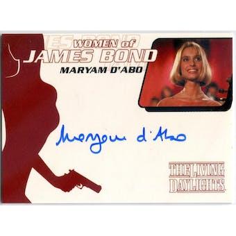 Maryam D'Abo Rittenhouse Women of James Bond #WA2 Kara Milovy Autograph (Reed Buy)