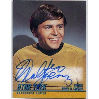 Walter Koenig Skybox Star Trek TOS #A28 Pavel Chekov Autograph (Reed Buy)