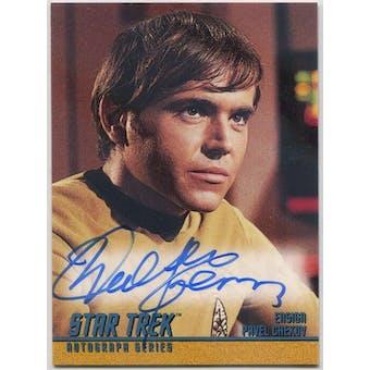 Walter Koenig Skybox Star Trek TOS #A62 Pavel Chekov Autograph (Reed Buy)