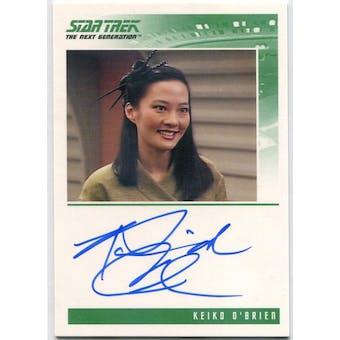 Rosalind Chao Rittenhouse Star Trek TNG Keiko O'Brien Autograph (Reed Buy)