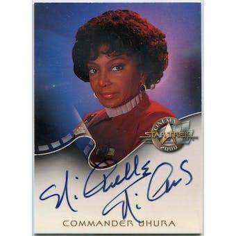 Nichelle Nichols Skybox Star Trek Cinema 2000 #A2 Uhura Autograph (Reed Buy)