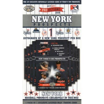 2008 TriStar Projections Baseball New York Yankees Prospects Box