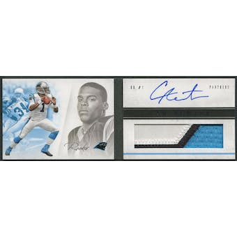 2011 Panini Playbook #107 Cam Newton Rookie Patch Auto #148/299