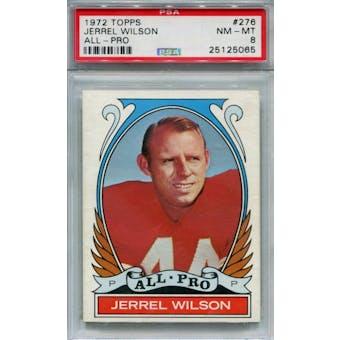1972 Topps #276 Jerrel Wilson AP PSA 8 *5065 (Reed Buy)
