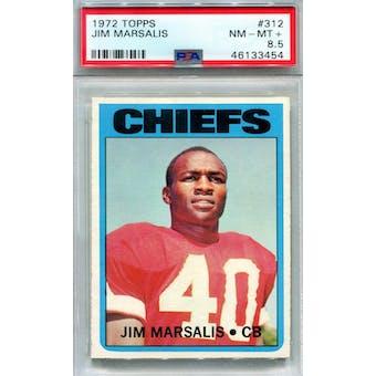 1972 Topps #312 Jim Marsalis PSA 8.5 *3454 (Reed Buy)